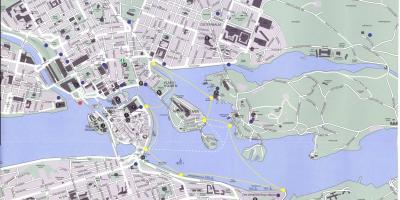 kart over stockholm sentrum Stockholm kart   Kart Stockholm (Södermanland og Uppland, Sverige) kart over stockholm sentrum